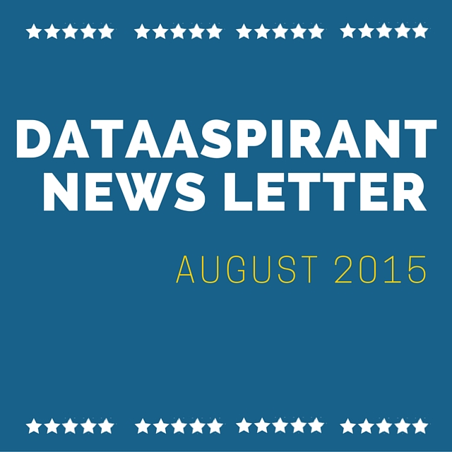 Dataaspirant news letter for August
